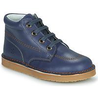 Chaussures Garçon Boots Citrouille et Compagnie PIMON Bleu