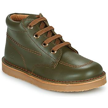 Chaussures Garçon Boots Citrouille et Compagnie PIMON Vert