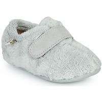 Chaussures Enfant Chaussons Citrouille et Compagnie LAFINOU Gris