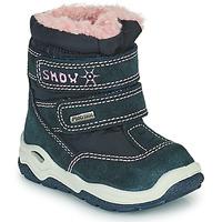 Chaussures Fille Bottes de neige Citrouille et Compagnie POUDOU Bleu/rose