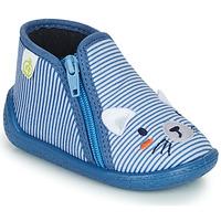 Chaussures Garçon Chaussons Citrouille et Compagnie PASTA Bleu
