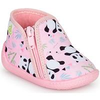 Chaussures Fille Chaussons Citrouille et Compagnie PIFOU Rose