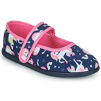 Chaussures Fille Chaussons Citrouille et Compagnie PIVONA Marine