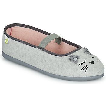 Chaussures Fille Chaussons Citrouille et Compagnie PASTALDENTE Gris