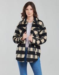 Vêtements Femme Vestes / Blazers Noisy May NMLULU Beige / Noir