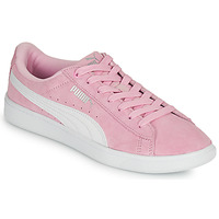 Chaussures Fille Baskets basses Puma VIKKY Rose