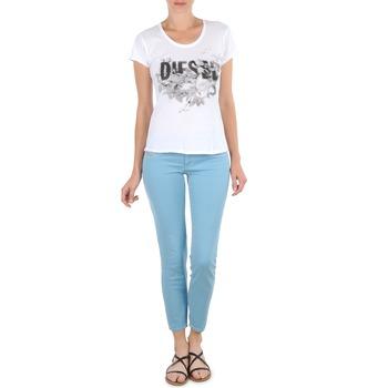 Pantalons 7/8 et 3/4 Diesel LIVIER-ANKLE Bleu