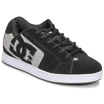 Chaussures Homme Chaussures de Skate DC Shoes NET Noir / Gris