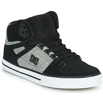 Chaussures Homme Baskets montantes DC Shoes PURE HIGH-TOP WC Noir / Gris