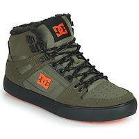 Chaussures Homme Baskets montantes DC Shoes PURE HIGH-TOP WC WNT Kaki / Noir
