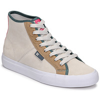 Chaussures Femme Baskets montantes DC Shoes MANUAL HI SE Beige