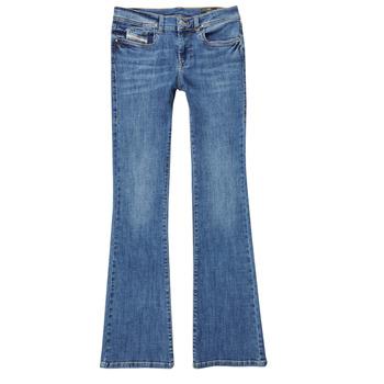 Vêtements Fille Jeans bootcut Diesel LOWLEEH Bleu