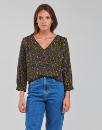 Vêtements Femme Tops / Blouses Vila VIZUGI Noir / Jaune / Bleu