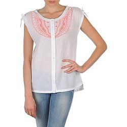 Vêtements Femme Chemises manches courtes Antik Batik AYLA Blanc