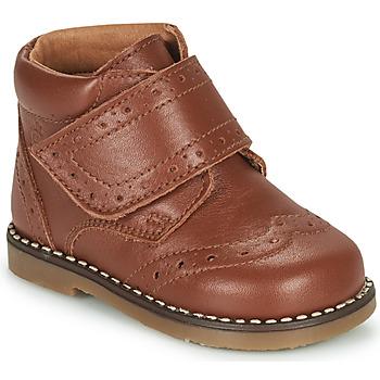 Chaussures Garçon Boots Citrouille et Compagnie PROYAL Camel