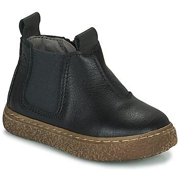 Chaussures Garçon Boots Citrouille et Compagnie PESTACLE Noir
