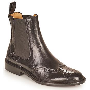 Chaussures Femme Boots Melvin & Hamilton SALLY 112 Noir