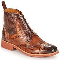 Chaussures Femme Boots Melvin & Hamilton AMELIE 17 Marron