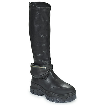 Chaussures Femme Boots Bronx JAXSTAR HIGH Noir