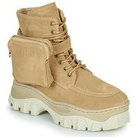 Chaussures Femme Boots Bronx JAXSTAR MID Beige