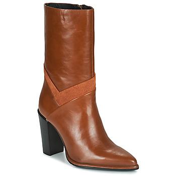 Chaussures Femme Bottes ville Bronx NEXT AMERICANA Marron