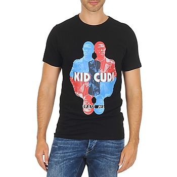 Vêtements Homme T-shirts manches courtes Eleven Paris KIDC M Noir