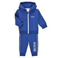 Vêtements Garçon Ensembles de survêtement BOSS KAMITA Bleu