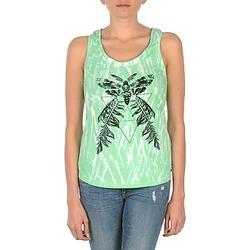 Vêtements Femme Débardeurs / T-shirts sans manche Eleven Paris PAPILLON DEB W Vert/Blanc
