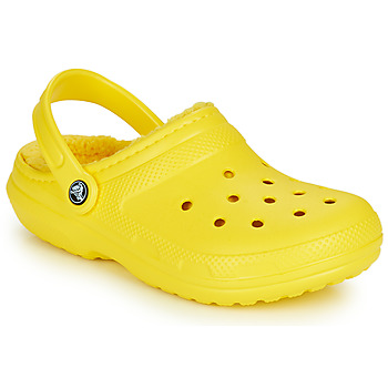 Chaussures Sabots Crocs CLASSIC LINED CLOG Jaune