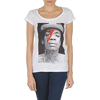 Vêtements Femme T-shirts manches courtes Eleven Paris KALIFA W Blanc
