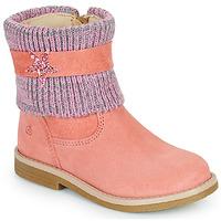 Chaussures Fille Boots Citrouille et Compagnie PASTEK Rose
