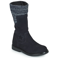 Chaussures Fille Bottes ville Citrouille et Compagnie PRARA Marine