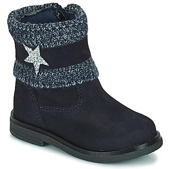 Chaussures Fille Boots Citrouille et Compagnie PASTEK Marine