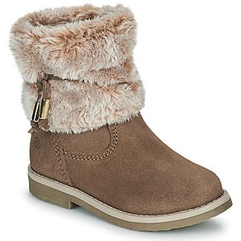 Chaussures Fille Boots Citrouille et Compagnie PAKRETTE Camel