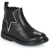 Chaussures Fille Boots Citrouille et Compagnie PRATO Noir