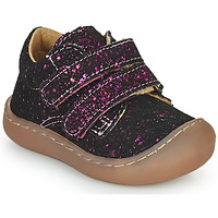 Chaussures Fille Baskets basses Citrouille et Compagnie PIOTE Fushia