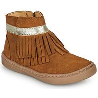 Chaussures Fille Boots Citrouille et Compagnie PIDOUTE Camel