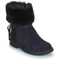 Chaussures Fille Boots Citrouille et Compagnie PICOTA Marine