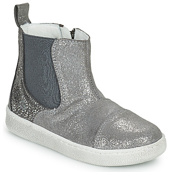 Chaussures Fille Boots Citrouille et Compagnie PIMANE Gris