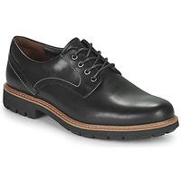 Chaussures Homme Derbies Clarks BATCOMBE HALL Noir