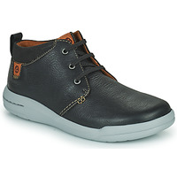 Chaussures Homme Boots Clarks DRIFTWAY MID Noir