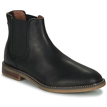 Chaussures Homme Boots Clarks JAXEN CHELSEA Noir