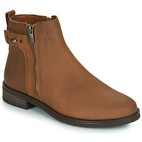 Chaussures Femme Boots Clarks MEMI LO Camel