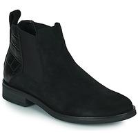 Chaussures Femme Boots Clarks MEMI TOP Noir