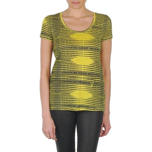 Vêtements Femme T-shirts manches courtes Eleven Paris DARDOOT Jaune