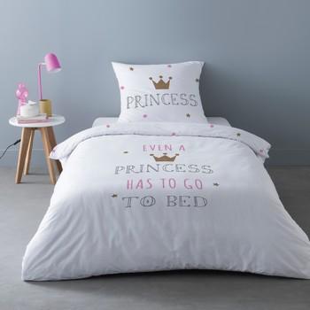 Maison & Déco Parures de lit Mylittleplace SLEEPY PRINCESS Blanc