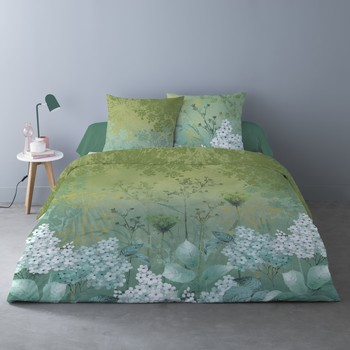 Maison & Déco Parures de lit Mylittleplace BLANCHEFLEUR Vert