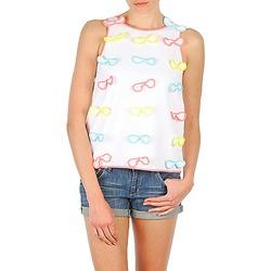 Vêtements Femme Débardeurs / T-shirts sans manche Manoush TOP NOEUD NOEUD Blanc