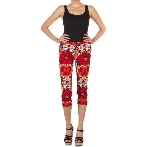 Vêtements Femme Pantacourts Manoush PANTALON POPPY Rouge