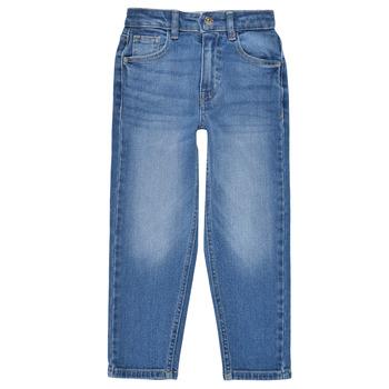 Vêtements Fille Jeans droit Only KONCALLA Bleu Clair